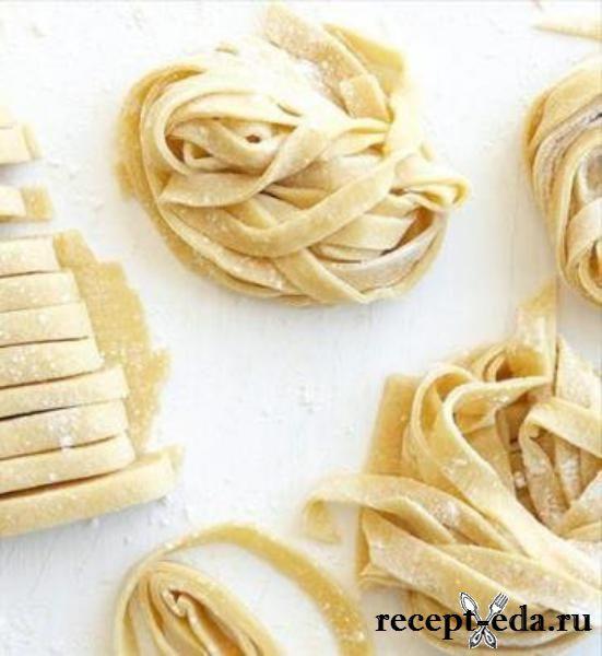 Рецепт пасты пошагово